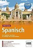 First Class Spanisch, 4 CD-ROMs + Audio-CDDer komplette Sprachkurs für Anfänger und Fortgeschrittene. 49 Min.