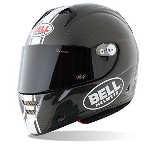 Bell Motorradhelme Street 2015 M5X Carbon Adult Helm, Daytona Matte Weiß, XXL