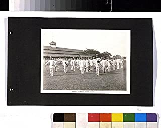 Photo: Band, Iwahig Penal Colony, Palawan, Philippines, c1916, Prison, Colonist Prisoners . Size: 8x