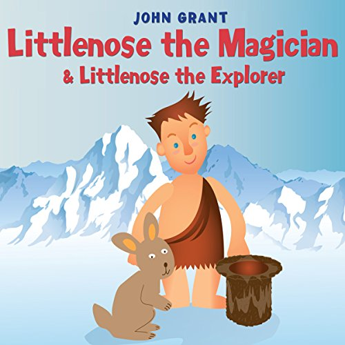 Littlenose the Magician & Littlenose the Explorer audiobook cover art