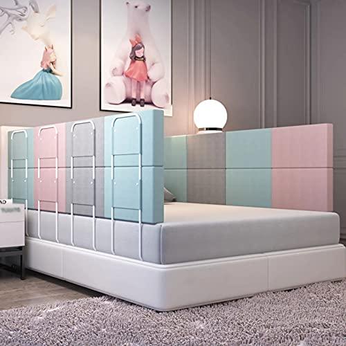Regulowany Bariera Ochronna, Ogrodzenie łóżka Baby, Barierki do łóżek, Przenośna Barierka do łóżka, Berbeć łóżko Osłona, Anti-drop Bed Barrier, do łóżeczek Dziecięcyc(Size:Length 60cm,Color:Zielony)
