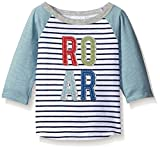 Mud Pie Baby Boys' Raglan T-Shirt, Roar, 12-18 Months