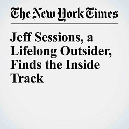 Jeff Sessions, a Lifelong Outsider, Finds the Inside Track copertina