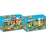 Playmobil 9275 - Tierhotel Pfötchen Spiel &  9276 - Katzenpension Spiel
