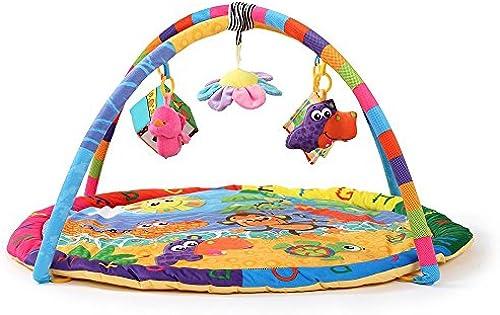 LINAG Activity Matte Baby Gym Play Decke Mat Piano Spieldecke Infant Spiel Krabbeldecken Taufgeschenk Baby Smart Spielzeug Sport Kick Boden Kinder Fitness Lernspielzeug Crawl Affe , B