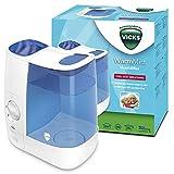 Humidificador de vapor cálido Vicks VH845 - Azul/Blanco