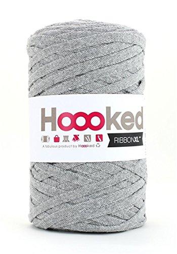 Hoooked RibbonXL Silbergrau, 120 Metres