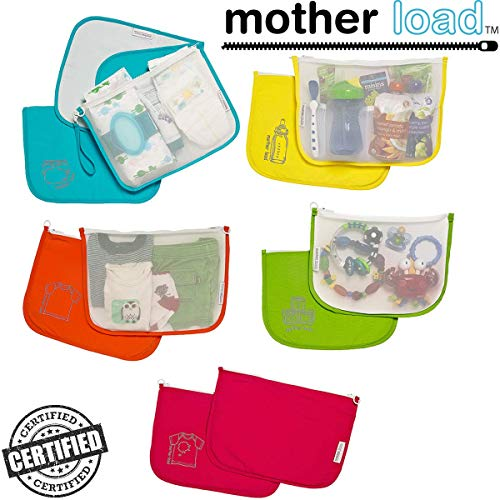 Diaper Bag Organizer Pouches by MOTHER LOAD -...