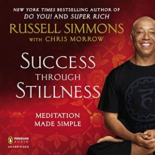 Success Through Stillness audiobook cover art