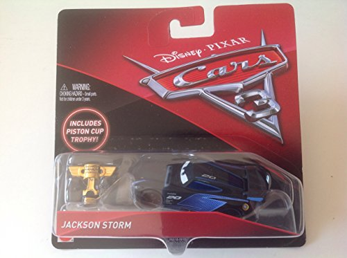 Disney/Pixar Cars 3 - Jackson Storm (inklusive Piston Cup Trophy)