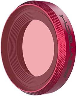 Hensych para PGYTECH Osmo - Filtro de esnórquel para cámara dji Osmo Action (mástil) Apto para cámara submarina de 0 a 5 m