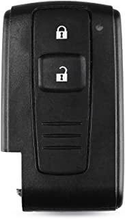 Autosleutel Shell Case 2 Knoppen Remote Autosleutel Shell Compatibel met Toyota Prius 2004 2005 2006 2007 2009 2009 Coroll...