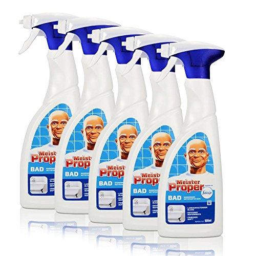 5 x Sr., limpiador de baño adecuado Febreze 500 ml