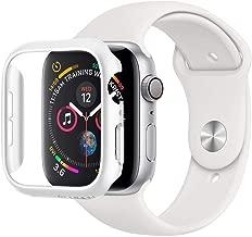 Spigen Apple Watch Funda, Thin Fit diseñado para Apple Watch 44mm Series 5 / Series 4 Case - Blanco