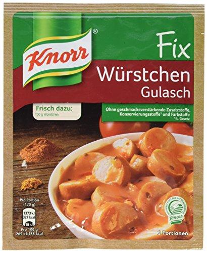 Knorr Fix Würstchen Gulasch 2 Portionen (1 x 32 g)