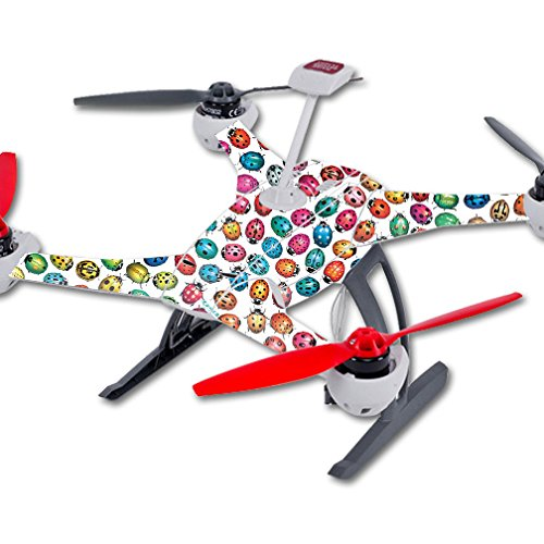 MightySkins Skin Compatible with Blade 350 QX3 Drone – Color Bugs   Protective, Durable, and Unique Vinyl Decal wrap Cover   Easy to Apply, Remove, and Change Styles   Made in The USA