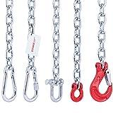 Seilwerk STANKE 100cm Befestigungsset zur Aufhängung von Hängematte, Hängesessel, Boxsack, mit Stahlkette 6 mm + Schäkel 10mm