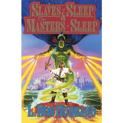 'Slaves of Sleep' and 'The Masters of Sleep' audiobook cover art