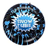 Brace Master Snow Tube - 47 Inch Inflatable Heavy Duty Snow Sled Tube 6mm Thickness Material for Highly...