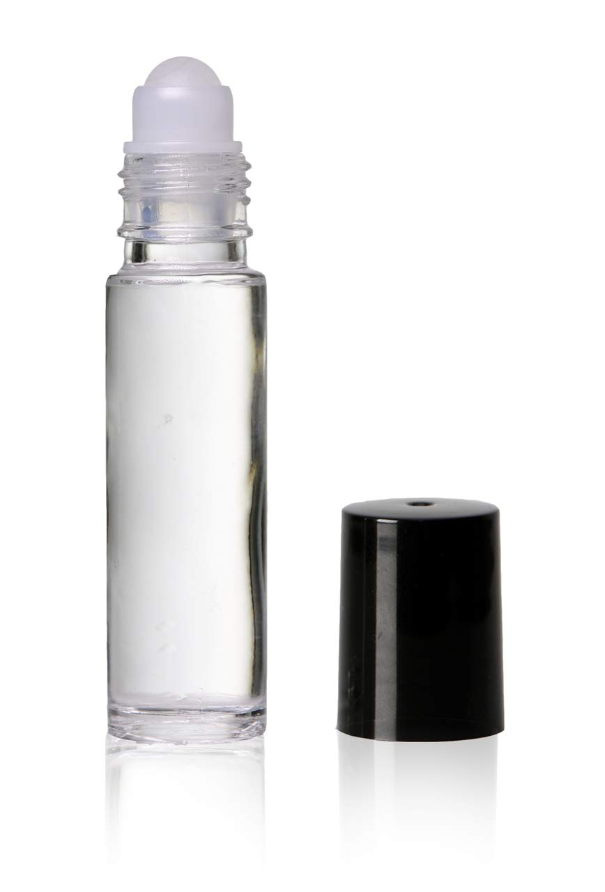 OFFicial site 10 Ml 1 3 Oz Plain Now free shipping Roll Pac W Caps-144 on Ball Bottles Black