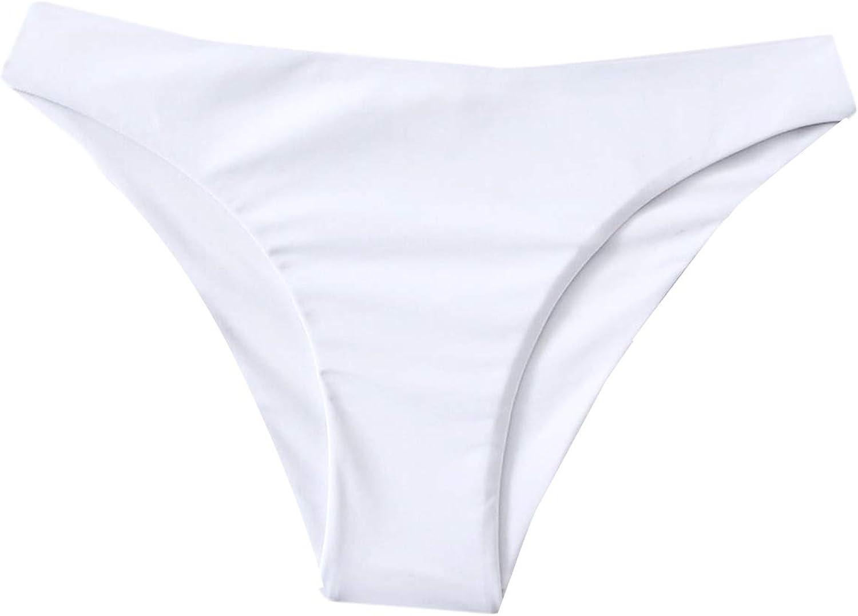 SheIn Women's Swimsuit One Piece Bikini Bottoms Panty Casual Beach Wear