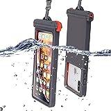ESACLM wasserdichte Handyhülle 6,5 Zoll, IPX8 Zertifizierte Wasserfeste Hülle, Handytasche Wasserdicht für iPhone XS/XR/X/8/7/6/6s/ Samsung Galaxy S9/S8/A50/ Huawei P30