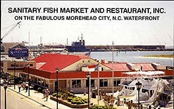 Sanitary Fish Market And Restaurant Inc Morehead City, North Carolina Original Vintage Postcard