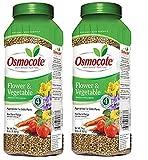 Osmocote Smart-Release Plant Food Flower & Vegetable, 2 lbs(2-Pack)