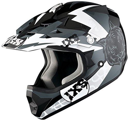 IXS X-Helm HX 278 TIGER, Größe:54, Farbe:schwarz-grau-weiss