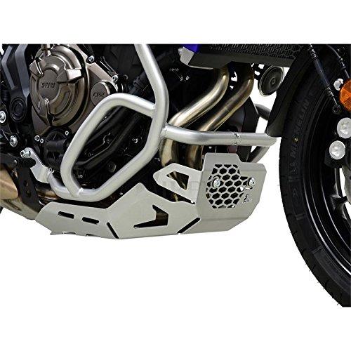 Yamaha MT-07 MT07 Tracer Bj 2016-18 Protección Del Motor Antiempotramiento Pan Del Vientre Plata