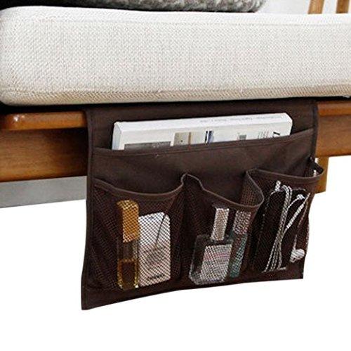 Smilesun Bedside Storage Organizer Sofa Storage Organizer Table Cabinet Storage Organizer for Tablet Magazine Phone Remotes  All Within Arms Reach