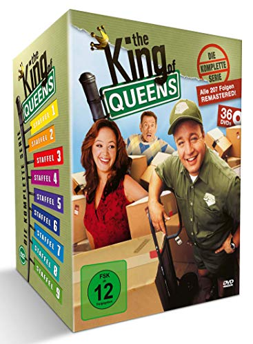 The King of Queens - Die komplette Serie - Queens Box (36 DVDs) (exklusiv bei Amazon.de)