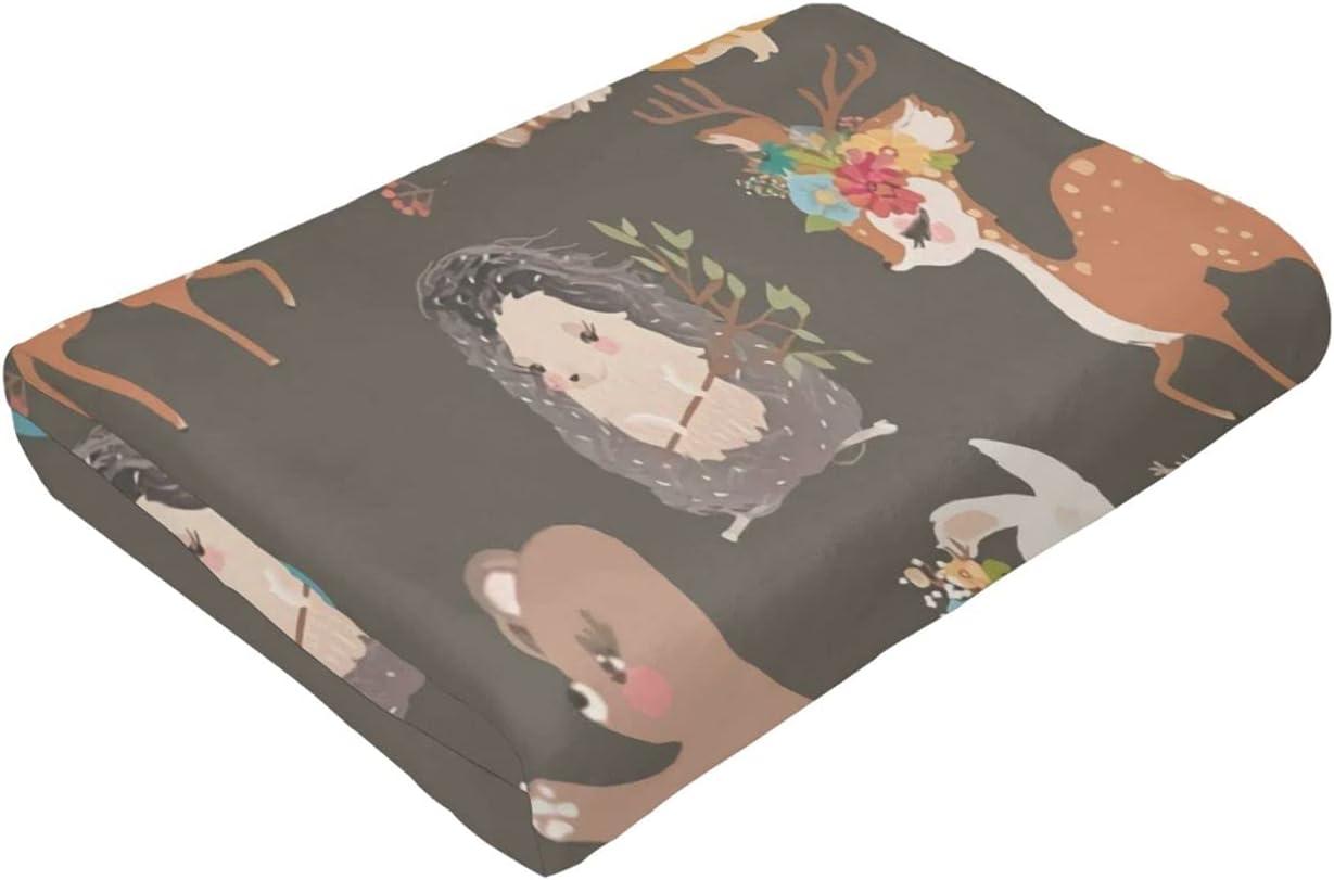 Zorro y Conejo Ultra-Soft Micro Regular store Max 75% OFF Suitable Fleece Bed for Blanket