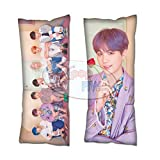 Cosplay-FTW Kpop BTS Map of The Soul: Persona Suga Body Pillow Cover Peach Skin Polyester Blend 40cm x 100cm (Set of 1, CASE ONLY)