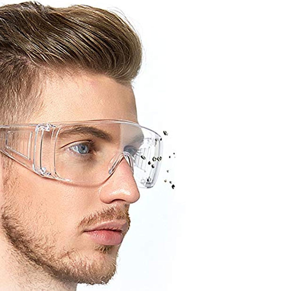 あごグリーンランド唯一保護メガネ 保護ゴーグル 透明 レンズクリア防護眼鏡 歯科用保護眼鏡 メガネ 防風 防塵 曇り防止 優れた防護性 眼保護具 作業用 男女兼用