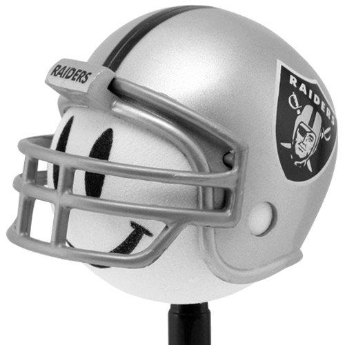 Oakland Raiders Football Helmet Antenna Topper