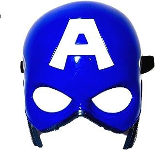Superhero The Avengers Costume LED Light Eye Mask (Captain America)