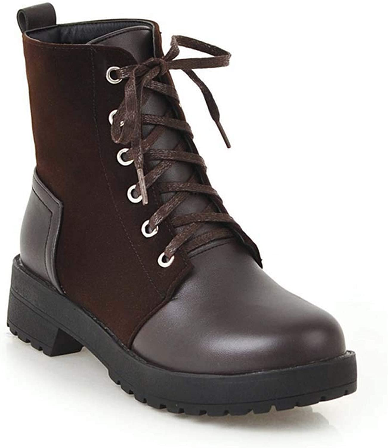 Women Casual Martin Boots 2018 Autumn New Comfortable Simple Ankle Boots
