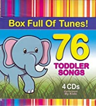 76 Toddler Songs 4 CD Box Set (4 Music CD Set)