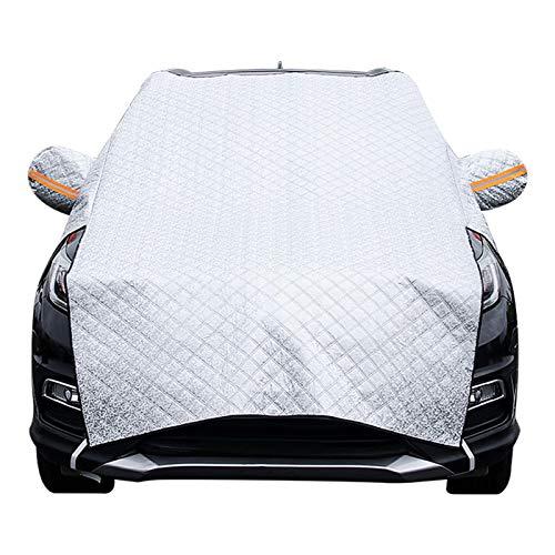 Lingge Versión Mejorada Cubierta De Nieve para Parabrisas De Automóvil Cubierta De Nieve para Parabrisas De Automóvil Frost Protector De Protección contra Escarcha Protección Solar Boosted