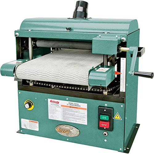 Grizzly Industrial G0459-12' 1-1/2 HP Baby Drum Sander