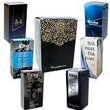 Set von 6 (sechs) Parfüm für Herren 15ml Jedes einzelne Box Spray.(Eau de Toilette) In Geschenkbox...