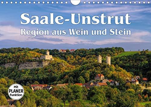 Saale-Unstrut - Region aus Wein und Stein (Wandkalender 2021 DIN A4 quer)