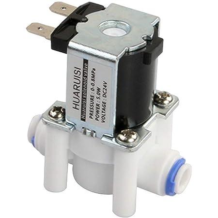 1 Stück 3//4 N//C Elektrisches Magnetventil 24V Magnetische Wasser-Luft Normal.