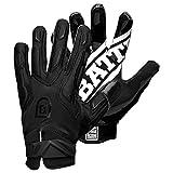 BATTLE - Guantes de fútbol para Hombre, Hombre, Color Negro, tamaño Medium