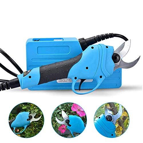 Élagage électrique ciseaux rechargeables outils de coupe de jardinage maison arbre fruitier sans fil épais branches dans les 30