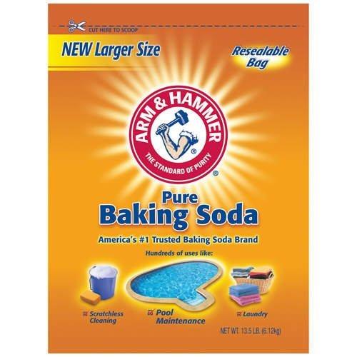 Arm & Hammer Baking Soda - 13.5 lb. bag - CASE PACK OF 4