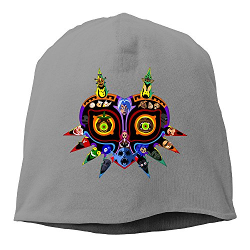 The Legend of Zelda Majoras Mask Cool Slouch Beanie Skull Caps Hats