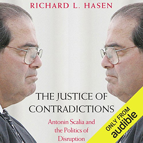 The Justice of Contradictions audiobook cover art