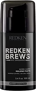 Redken Brews Work Hard Molding Paste, 100ml